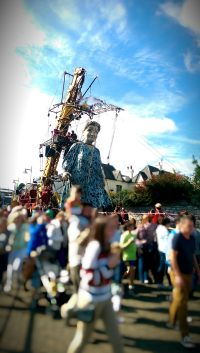 'Granny' and the Royal de Luxe