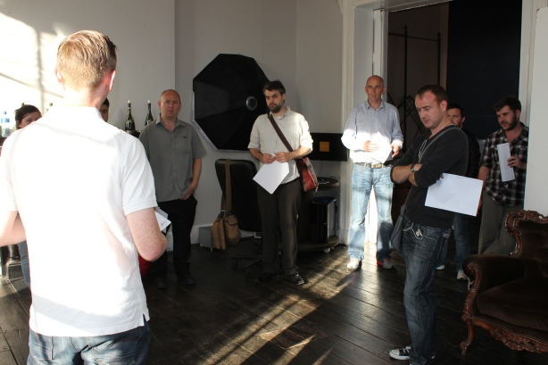 Film Makers attending the Q&A session at Platform 74, on Aug 8th last.