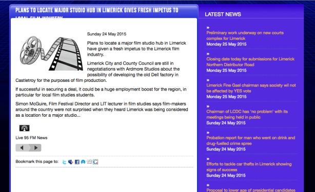Live 95fm news Story