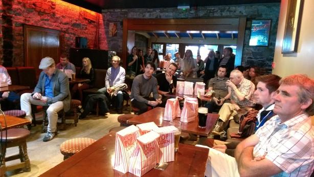 Audience at the Film Limerick Scene Screening.