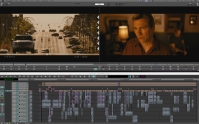 Editing timeline for 'The Suffering Kind' Director, Kevin Liddy