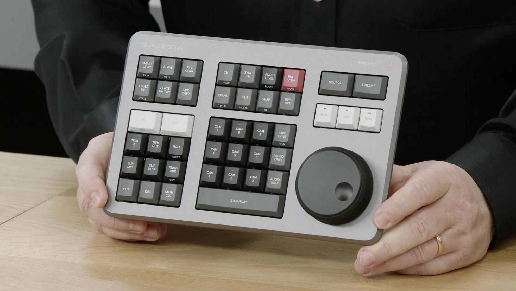 Blackmagic Introduce Speed Editor For Davinci Resolve Simon Mcguire